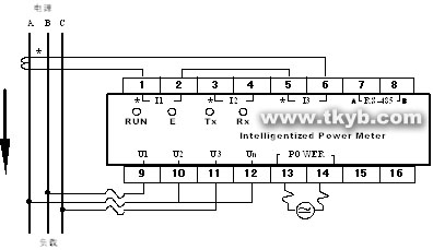 modbus rtu 接線圖